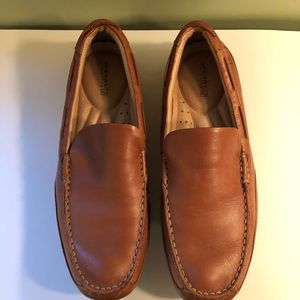 Sperry Navigator Venetian tan top sliders